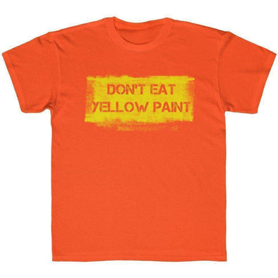 Yellow Paint Youth T-Shirt
