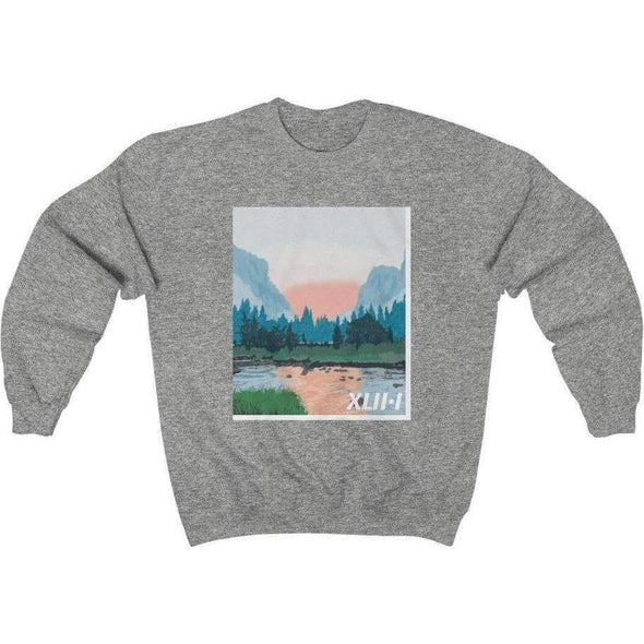 Honest Youth Pastor Psalm 42:1 Crewneck Sweatshirt
