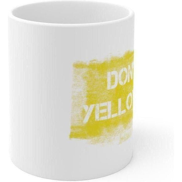 Yellow Paint 11oz Mug