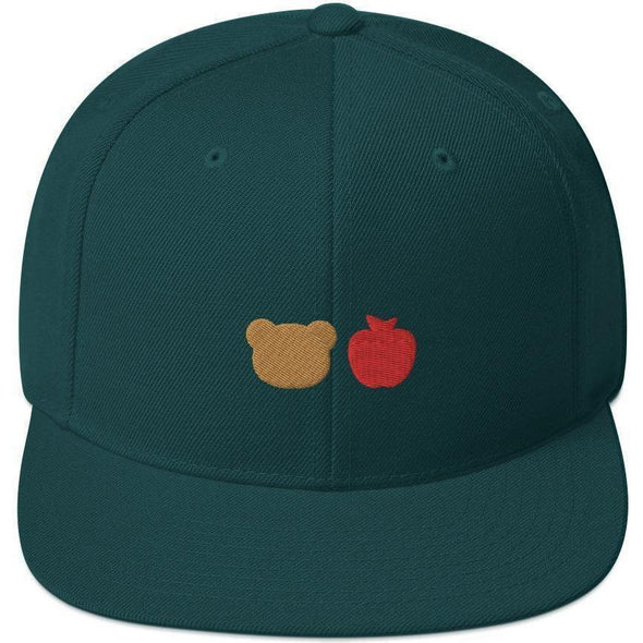 Bear Fruit Snapback Hat
