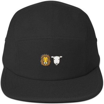 Lion and Lamb Five Panel Cap