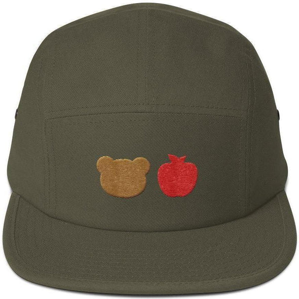 Bear Fruit Five Panel Cap