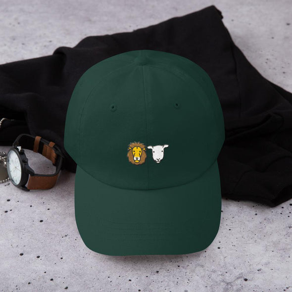 Lion + Lamb Dad Hat