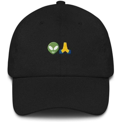 Aliens Pray Dad hat