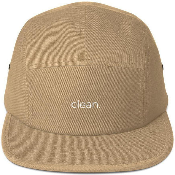 clean. Five Panel Cap