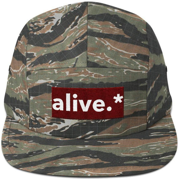 Alive.* Five Panel Cap