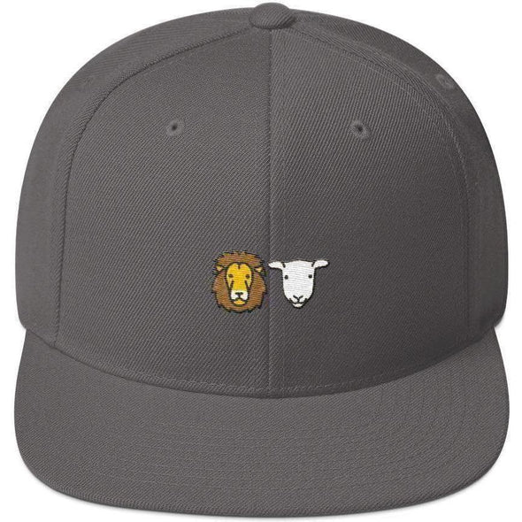 Lion and Lamb Snapback Hat