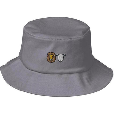 Lion + Lamb Bucket Hat