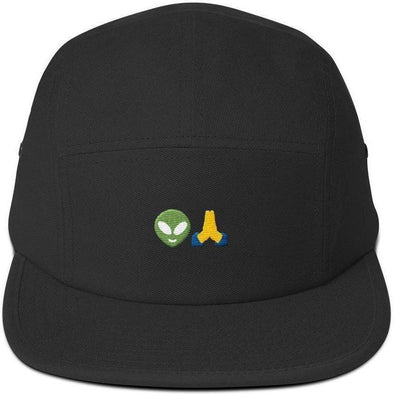 Aliens Pray Five Panel Cap