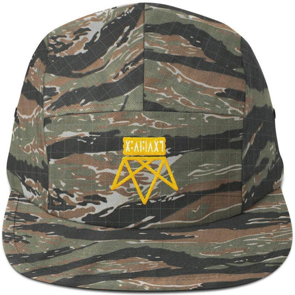 Upside Down Five Panel Cap
