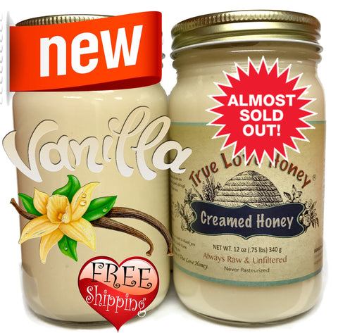 Creamed Vanilla 2 PACK (8oz jars) with FREE SHIPPING in the USA