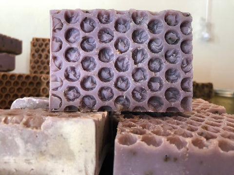 Front of Lavender soap
