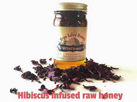 Hibiscus Honey (8oz)
