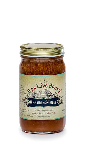 Cinnamon and Honey (Half Pint Jar) FREE SHIPPING!!!