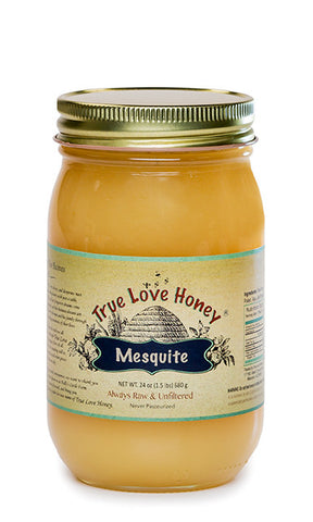 Granulated Raw Arizona Mesquite Honey with FREE SHIPPING in the USA