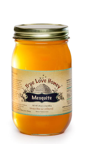 Raw Arizona Mesquite Honey with FREE SHIPPING in the USA