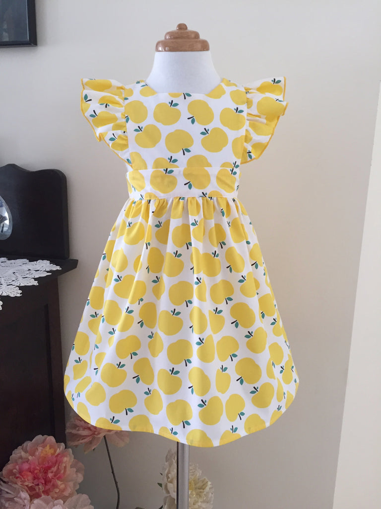 Pinafore Flutter - Yellow Apple