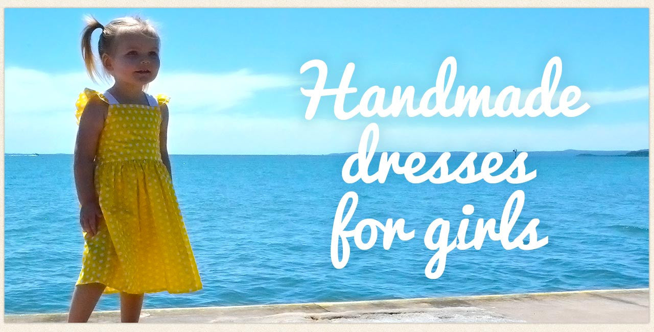 Handmade dresses for girls