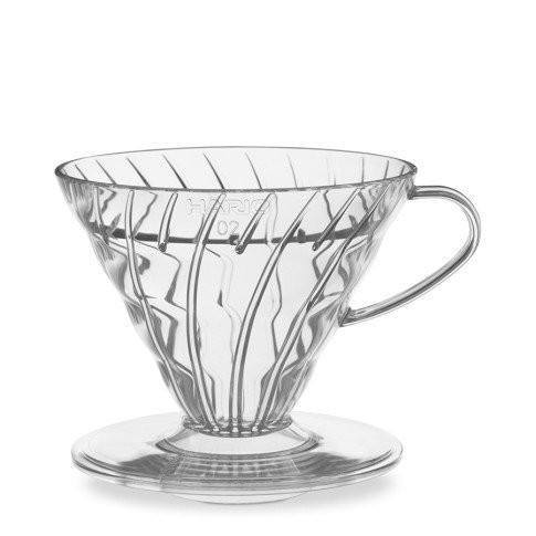 HARIO V60 CLEAR POUR OVER COFFEE BREWER