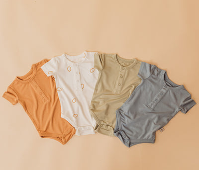 THe comfiest bamboo onesies for your babes