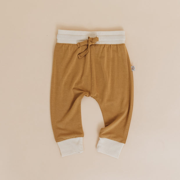 Leggings - Bamboo - Honey/Dove