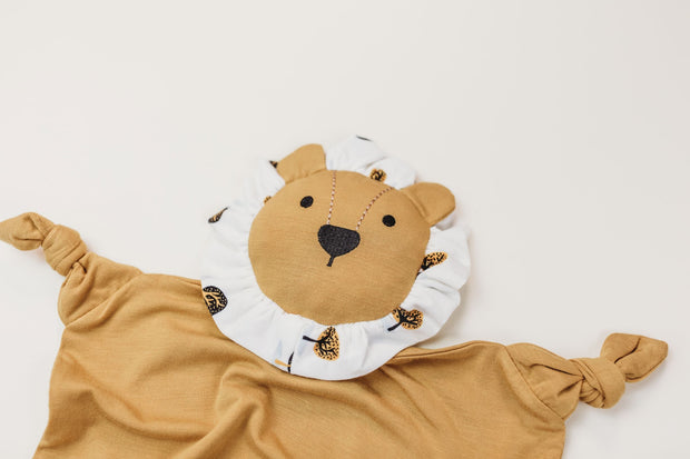 Lion - Bamboo Lenny - Honey/Pattern Frill