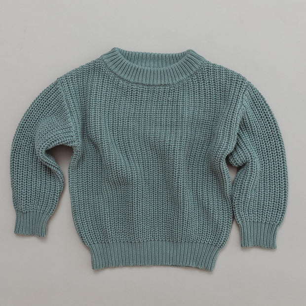 Chunky Knit Pullover - Woman - Milleu