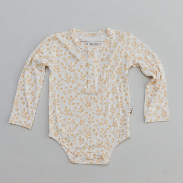 Onesie - Long Sleeve - Meadow