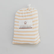 Bassinet - Bamboo Fitted - Wheat Stripe