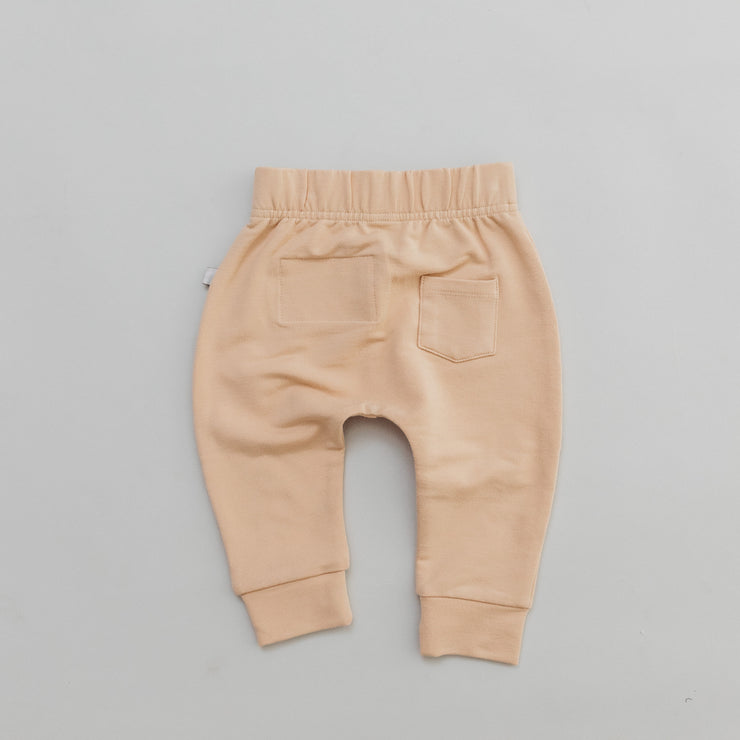 Jogger - Bamboo French Terry  - Wheat