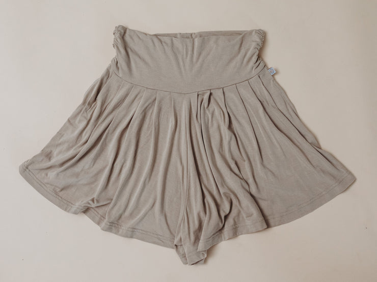 Woman - Bamboo Casual Shorts - Fawn
