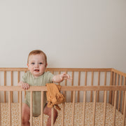 COT Sheet Fitted - Bamboo Fitted - GINGER BOHO