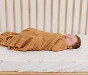 COT Sheet Fitted - Bamboo Fitted - GINGER SPOT