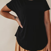 Woman - Bamboo Basic tshirt - Black