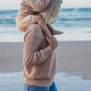 Chunky Knit Pullover - Woman - Sirocco