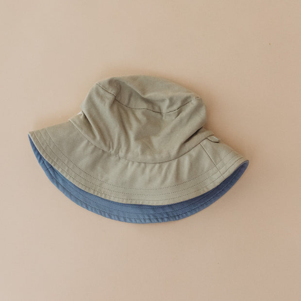 Hat - Baby  - SAGE/ASHLEY BLUE