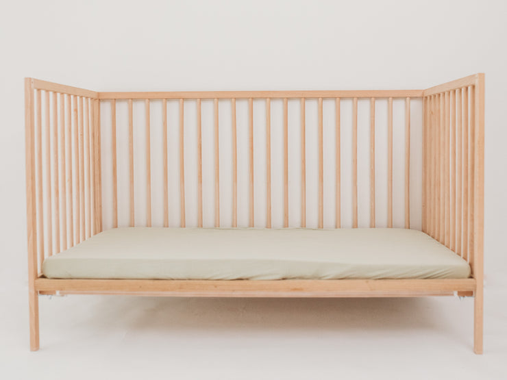 Cot Sheet - Bamboo Fitted - SAGE