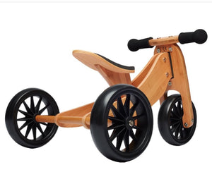 Shop Kinderfeet 2-in-1 Bamboo Balance Bike