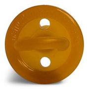 Round Natural Rubber Soother - Single - Reusable Case
