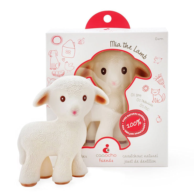 Mia The Lamb - Teething Toy