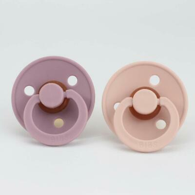 BIBS Soothers/Dummies - Blush/Heather