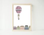 Hot air balloon ride - personalized