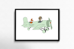 Airplane ride - personalized