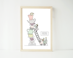 Tea cup rescue - personalized