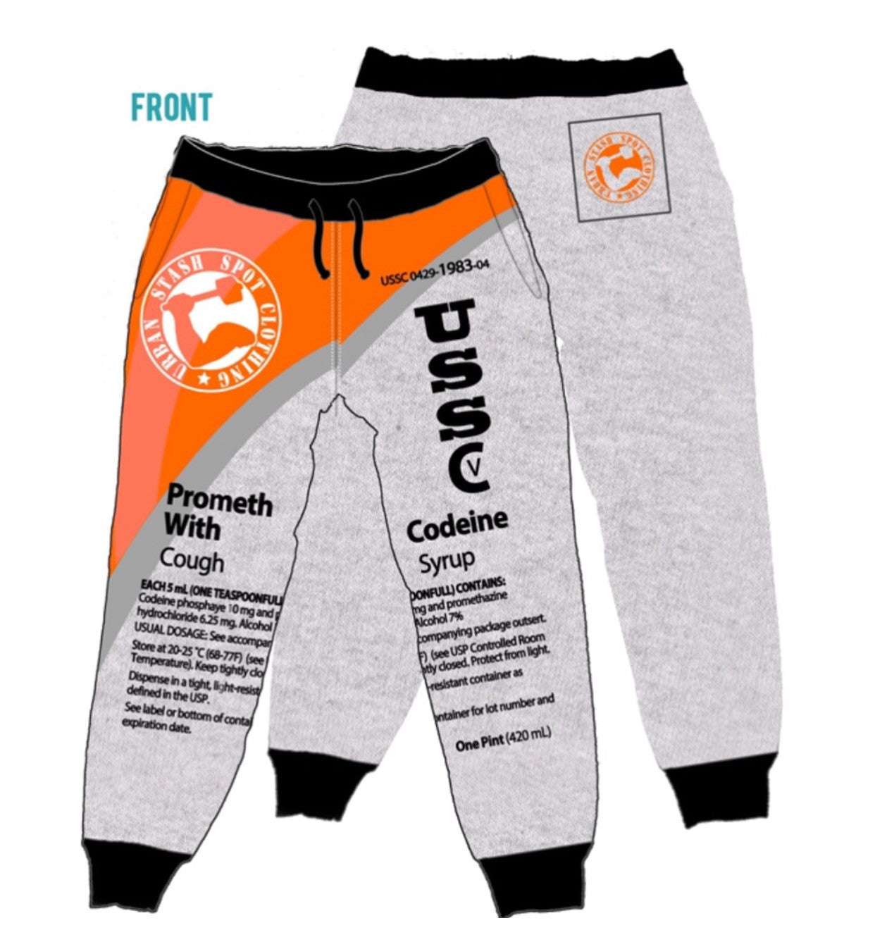 Ussc act heather gray joggers