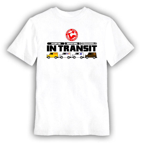 Transit delivery t shirt