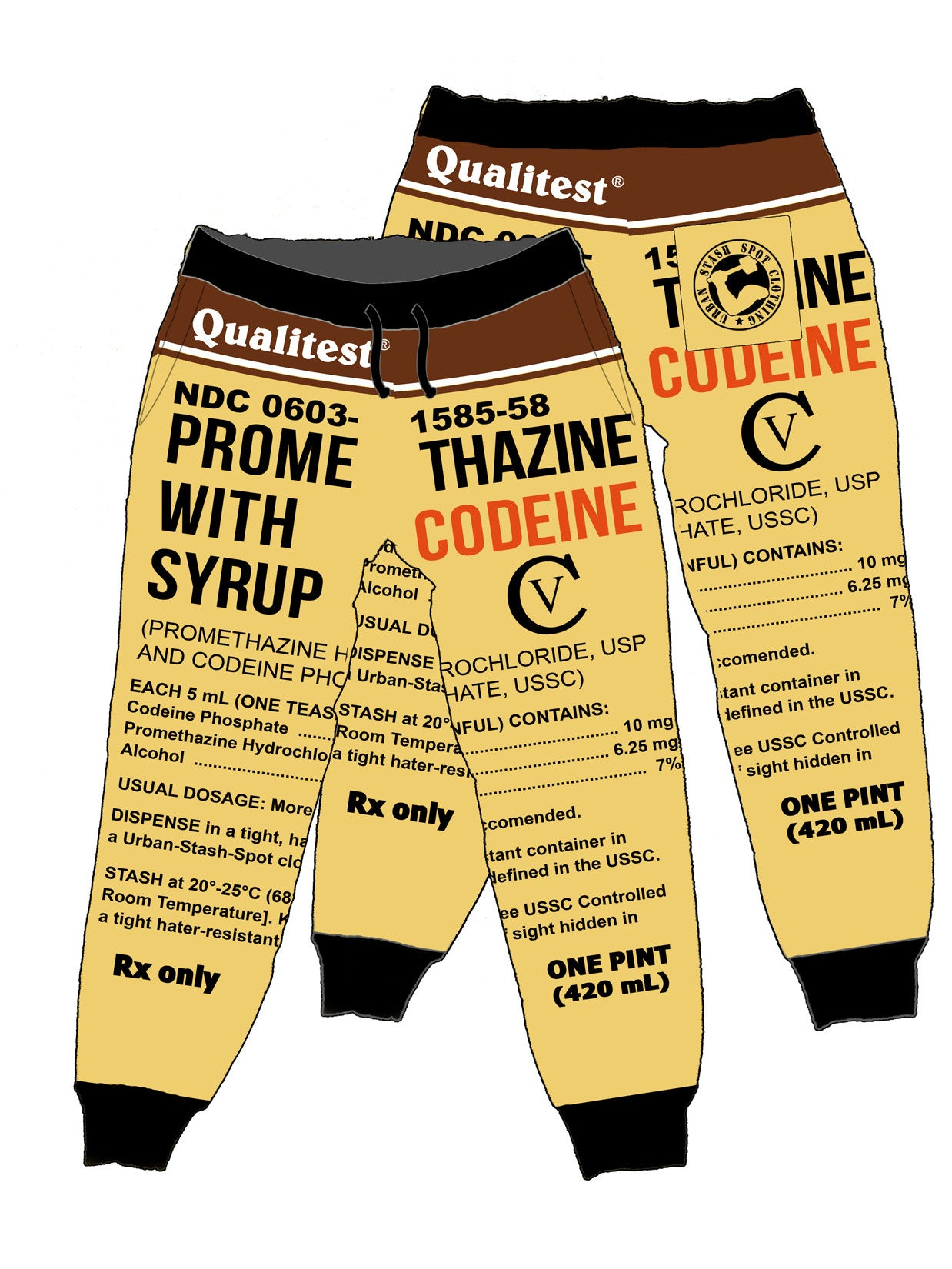 Qualitest codeine Joggers