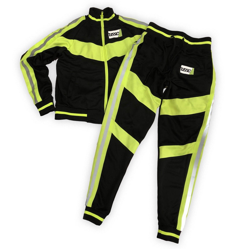 Ladies ussc flag reflection tracksuit