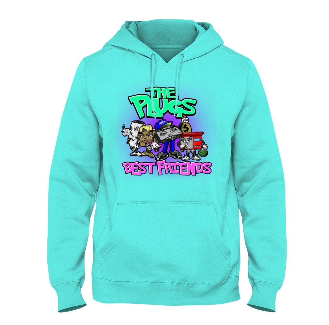 The plugs best friends hoodie