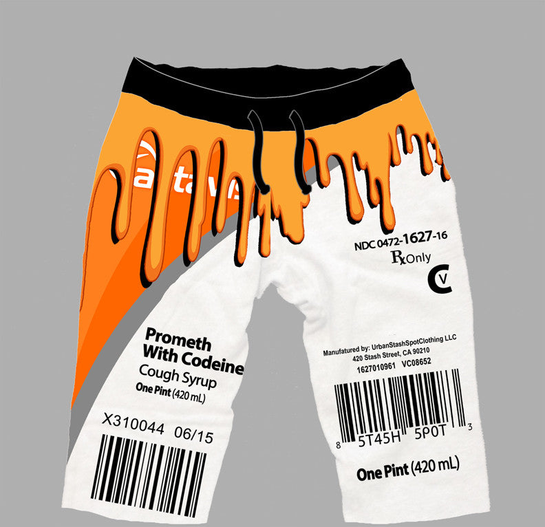 Drippy act shorts